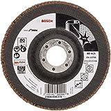 Bosch 2608608278 Plateau à lamelle X581 best for inox 125 mm 22,23 mm 80