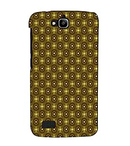 Fuson Designer Back Case Cover for Huawei Honor Holly (Brown colour pattern)