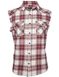 check out 848b1 5a8ad Amazon.it: Camicia smanicata - Uomo: Abbigliamento