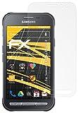 Samsung Galaxy Xcover 3 Displayschutzfolie - 3 x atFoliX FX-Antireflex blendfreie Folie Schutzfolie