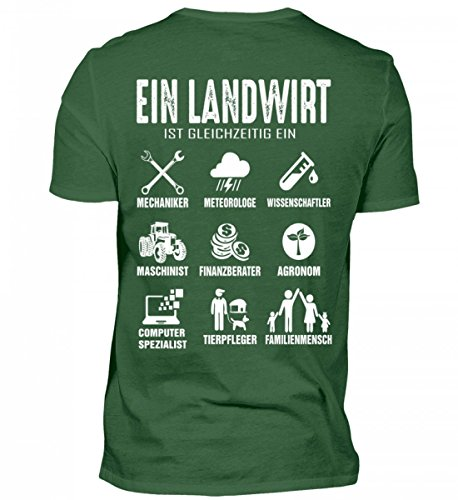 Hochwertiges Herren Shirt - Landwirt Shirt · Trecker · Traktor · Geschenk für Bauern · Spruch: Landwirtschaft Multital