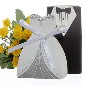100 x hochzeit gastgeschenk schachtel bonbon box. Black Bedroom Furniture Sets. Home Design Ideas