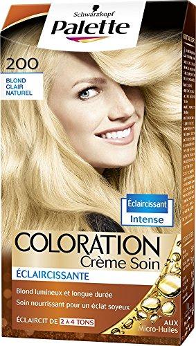 Schwarzkopf - Palette - Coloration Permanente - Blond Clair Naturel 200