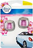 Car Air Freshener Febreze Economy Twin Pack Blossom and Breeze Clip-on Car Vent Air Freshener