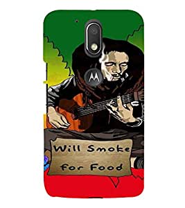 PrintVisa Music Bob Reggae 3D Hard Polycarbonate Designer Back Case Cover for Motorola Moto G4 Plus