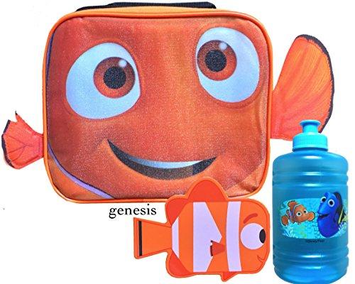 Disney Finding Dory & Nemo Kinder Isolierte Lunch Box, Snack Container & Wasser Flasche Back to School Specials Lunch Kits Water Jug Nemo (Lunchboxes Flasche Für Wasser)