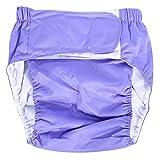Mutandine/pannoloni per incontinenza di adulti anziani, regolabili, in tessuto lavabile, riutilizzabili, dimensioni: da 52 a 108cm