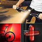 AMANKA-Luci-Bici-Ricaricabili-USBLuce-LED-Bicicletta-con-Display-di-Potenza-Super-Luminoso-Luce-Bici-Anteriore-e-Posteriore-per-Bici-Strada-e-Montagna