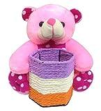 Soft Teddy Bear Pen Stand-22 cm.