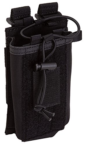 5.11 Tactical Bungee Radio Pouch - Black - Black