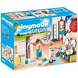 Playmobil PLAYMOBIL 9272 Einweihungsparty Grill-Kamin Lichterkette Schaukel Familie NEU