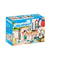 Playmobil City Life 9268 Bathroom with Light Effects for Children Ages 4+