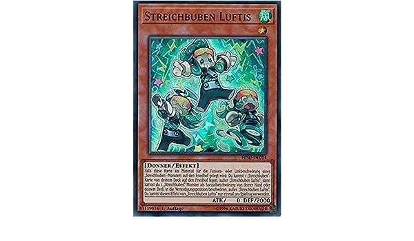 Yu-GI-OH Streichbuben Luftis Super Rare HISU-DE014 NEU!