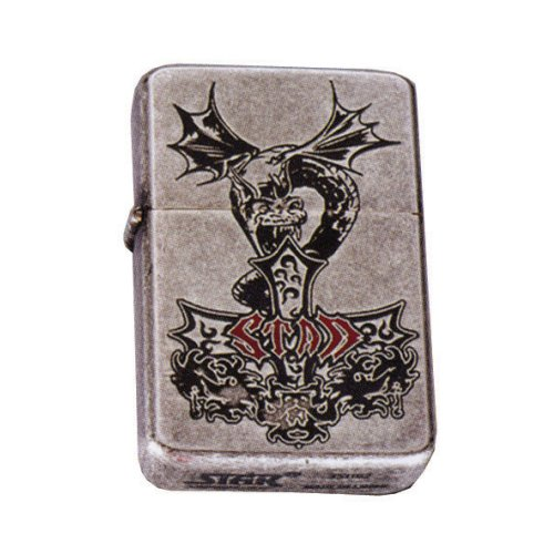 z de Plus Gas Mechero | Star Dragon Silver Antique