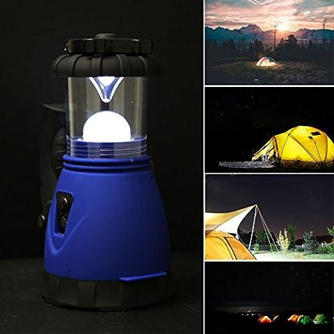 Solarek Ultra Bright-Lanterna da campeggio a LED ricaricabile da auto