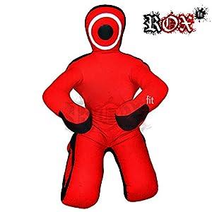 Fitness Rouge Noir//Bleu ROX Fit Grappling Dummy Mannequin Convient pour MMA Combat mix Arts Martiaux Formation