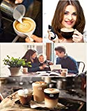 MOHAK Electric Handheld Milk Wand Mixer Frother for Latte Coffee Hot Milk Hand Blender Coffee Beater, (Black)
