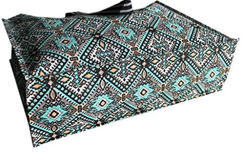 Borsa mare Gian Marco Venturi donna moda mare l.etnica 44351 turchese