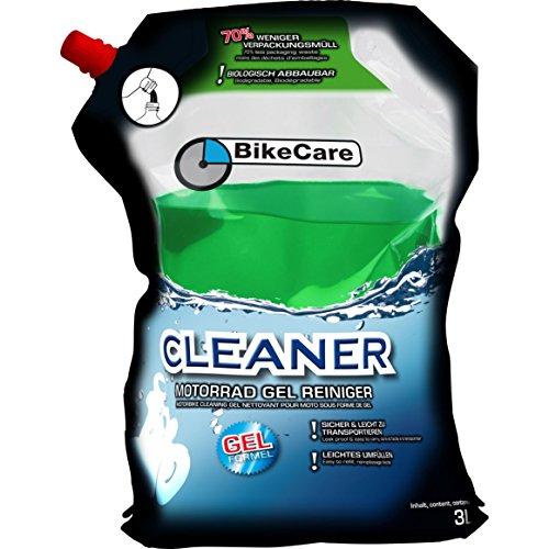 BikeCare Cleaner Motorrad Gel Reiniger, Vorratsbeutel 3 Liter