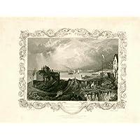 Theprintscollector antico print-northfleet-kent-thames-great