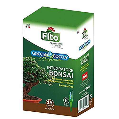 FITO Dünger Bonsai Liquid Drop Droplet Release für Pflanzen 6 Durchstechflaschen à 32 ml pro Packung | Gebrauchsfertig, bereits verdünnt | Verstärkt die natürlichen Abwehrkräfte von Bonsai (1) -