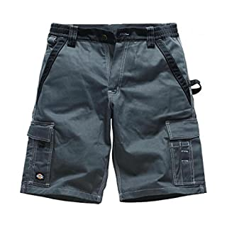 Dickies Bermuda Short Industry 300 grau/schwarz GBK46, IN30050