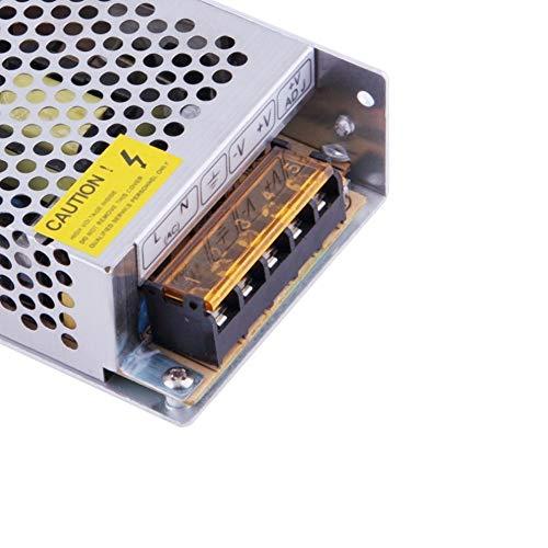 Tiempo de saldos Alimentador 5A 12V tira de luces LED transformador 5amperios estabilizado 220V 60W