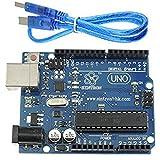 AZDelivery Uno R3 Board mit ATmega328P, ATmega16U2, 100% Arduino kompatibel