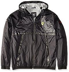 PUMA Mens SF Lightweight Jacket, Puma Black, Small
