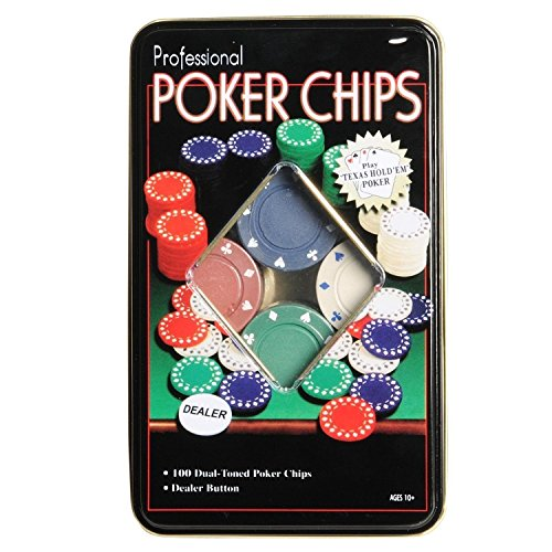 Go Hooked Poker Chips Casino Game (Set of 100) | Poker Chips game set  available at amazon for Rs.399