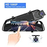 "Best Car Dash Cams - Mirror Dash Cam, 7"" IPS Touch Screen 1080P Review"