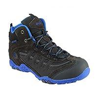 Hi-Tec Penrith Junior Outdoor Boots, Waterproof Blue