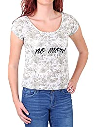 Madonna T-Shirt Damen SOJA Flowers&Leaves Print Shirt MF-408042-V1 Original