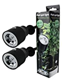 GYD 2Stk LED Pflanzenleuchte Pflanzenspot Pflanzen-Strahler Deko-Beleuchtung Deko