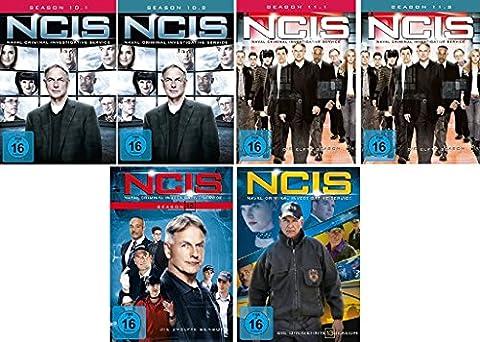 Navy CIS Staffel 10 bis 13 (10.1-11.2 + 12 + 13) im Set - Deutsche Originalware [24 DVDs]