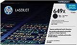 HP 649X (CE260X) Schwarz Original Toner mit hoher Reichweite für HP Color Laserjet Enterprise CP4525