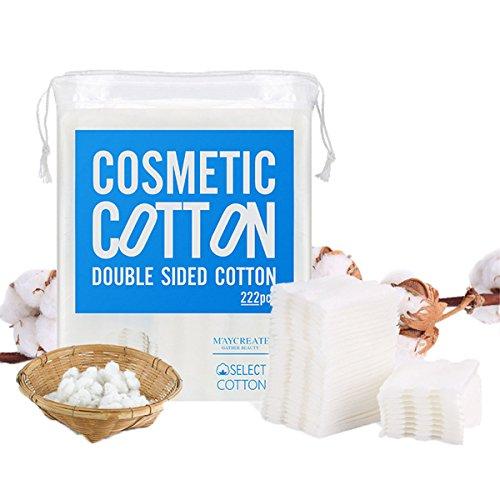 Baumwolle Pads, LinLang, Entferner Cleansing cotton, Drei-Schicht, 5 * 6cm (Paket von 222) BH020