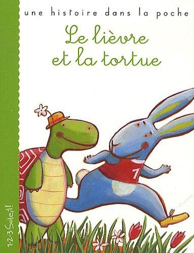 Le lièvre et la tortue par Esope, Barbara Nascimbeni