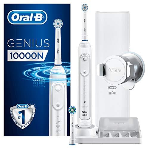 Oral-B Genius 10000N - Cepillo Eléctrico Blanco con Tecnología de Braun