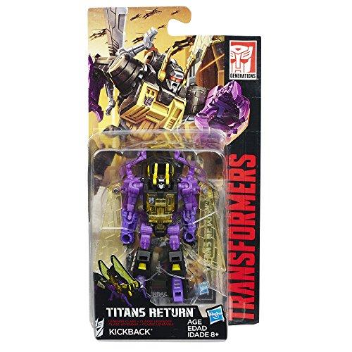 Transformers Generations Titans Return Legends Class Kickback