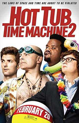 Hot Tub Time Machine 2 Movie Poster (68,58 x 101,60 cm) Hot Tub Time Machine-poster