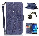 Produkt-Bild: PU Silikon Schutzhülle Handyhülle Painted pc case cover hülle Handy-Fall-Haut Shell Abdeckungen für Smartphone Samsung Galaxy J5 (2016) J510 +Staubstecker (6AH)