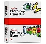 Adobe Photoshop Elements 5.0 plus Adobe Premiere Elements 3.0 - Support - CLP - CD - Win - français