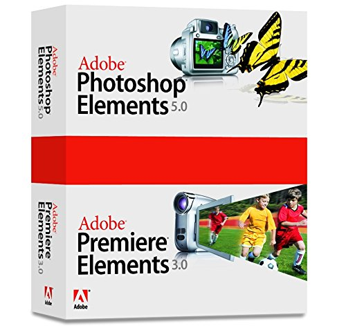 Adobe Photoshop Elements 5.0 plus Adobe Premiere Elements 3.0 - Support - CLP - CD - Win - français