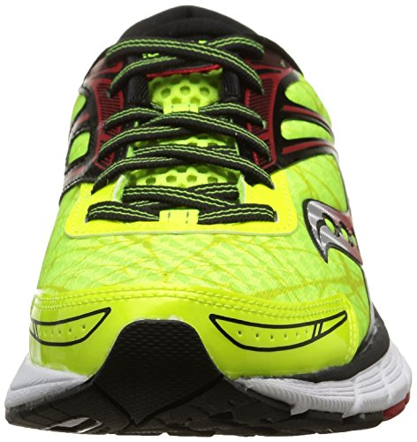 Saucony Herren, , breakthru, mehrfarbig (citron/red/black) mehrfarbig (Citron/Red/Black)