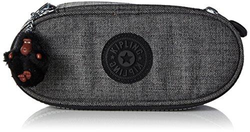 Kipling - duobox - astuccio medio - jeans grey - (grigio)