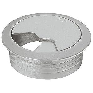 Gedotec flexible Kabeldurchführung Schreibtisch Spiralform rund Kabelschlange höhen-verstellbar Bürotische – H5259…