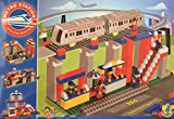 #7: Playking Maharaja Metro Station Building Blocks with 355 Interlocking Pcs, Assorted