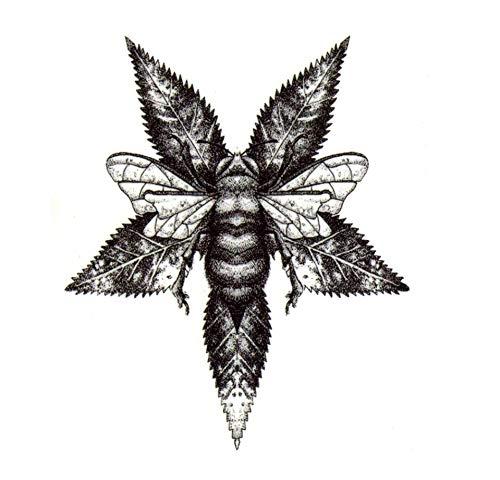 ruofengpuzi Honig-Bienen-4Pcs Wasserdicht Temporäre Tätowierung Dame Harajuku Männliches Tier Tattoo Tattoo Ärmel Tätowieren Kinder