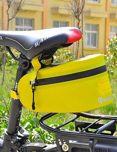 ZXC/ Fahrrad-Sattel-Beutel(Gelb / Blau / Orange,Nylon / TPU / 420D Nylon)Wasserdicht / Regendicht / Wasserdichter Verschluß / Reflexstreifen / Yellow